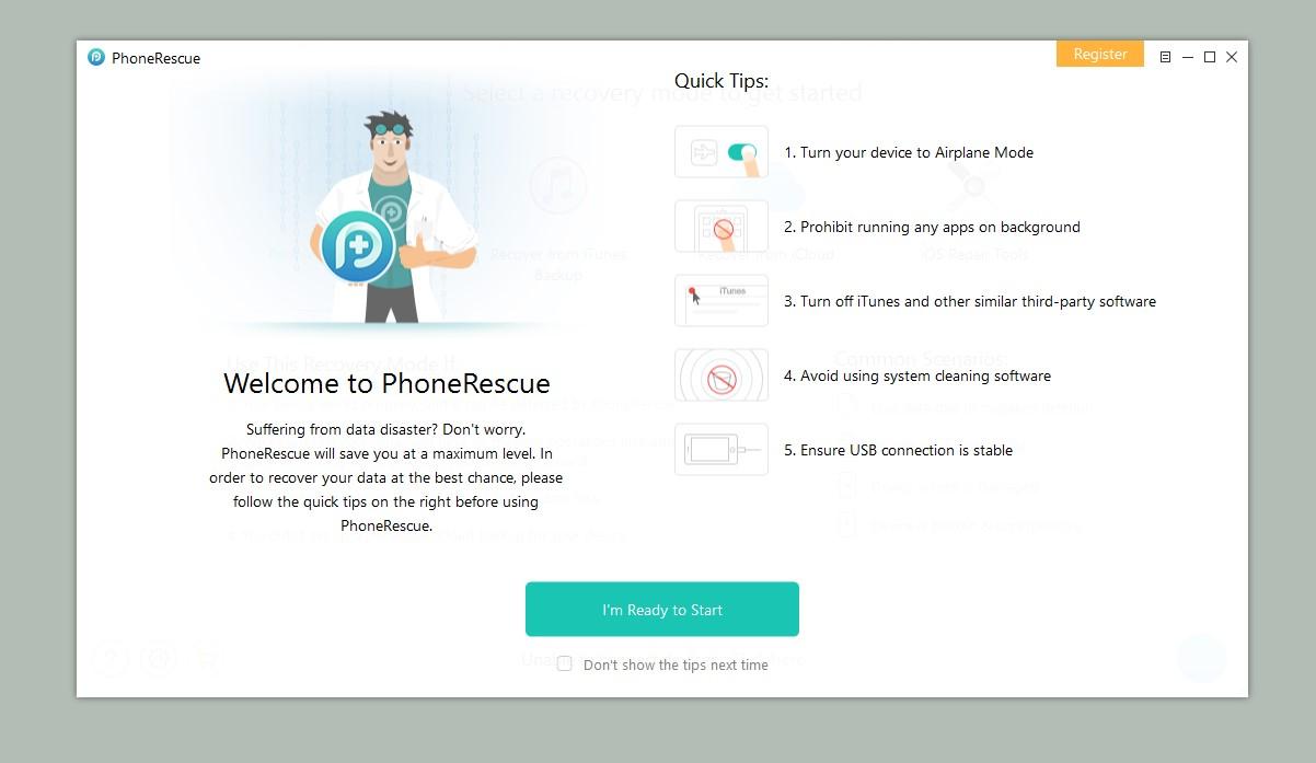 phonerescue license
