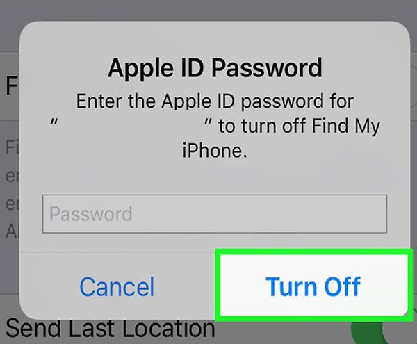 sign out of icloud